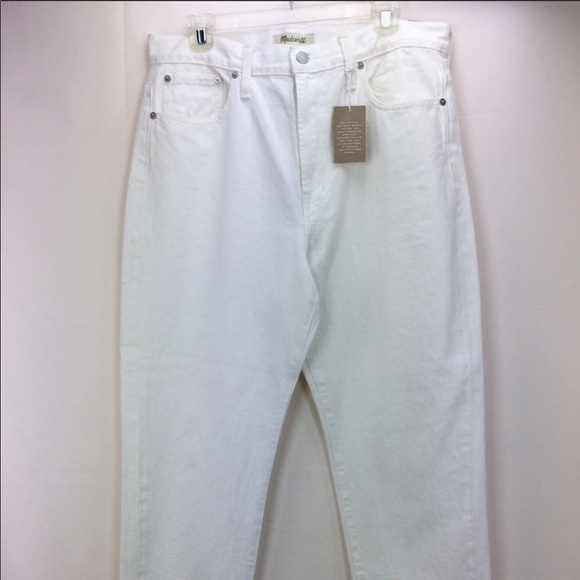 Madewell Denim - Madewell The Perfect Summer White Jeans 31